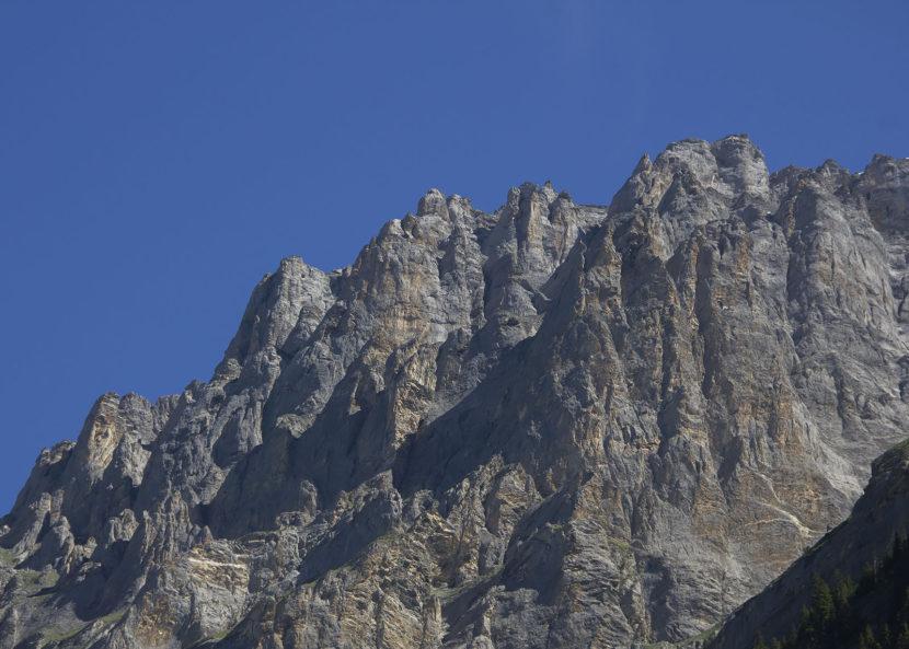 Europas höchste Formationen aus reinem Kalk