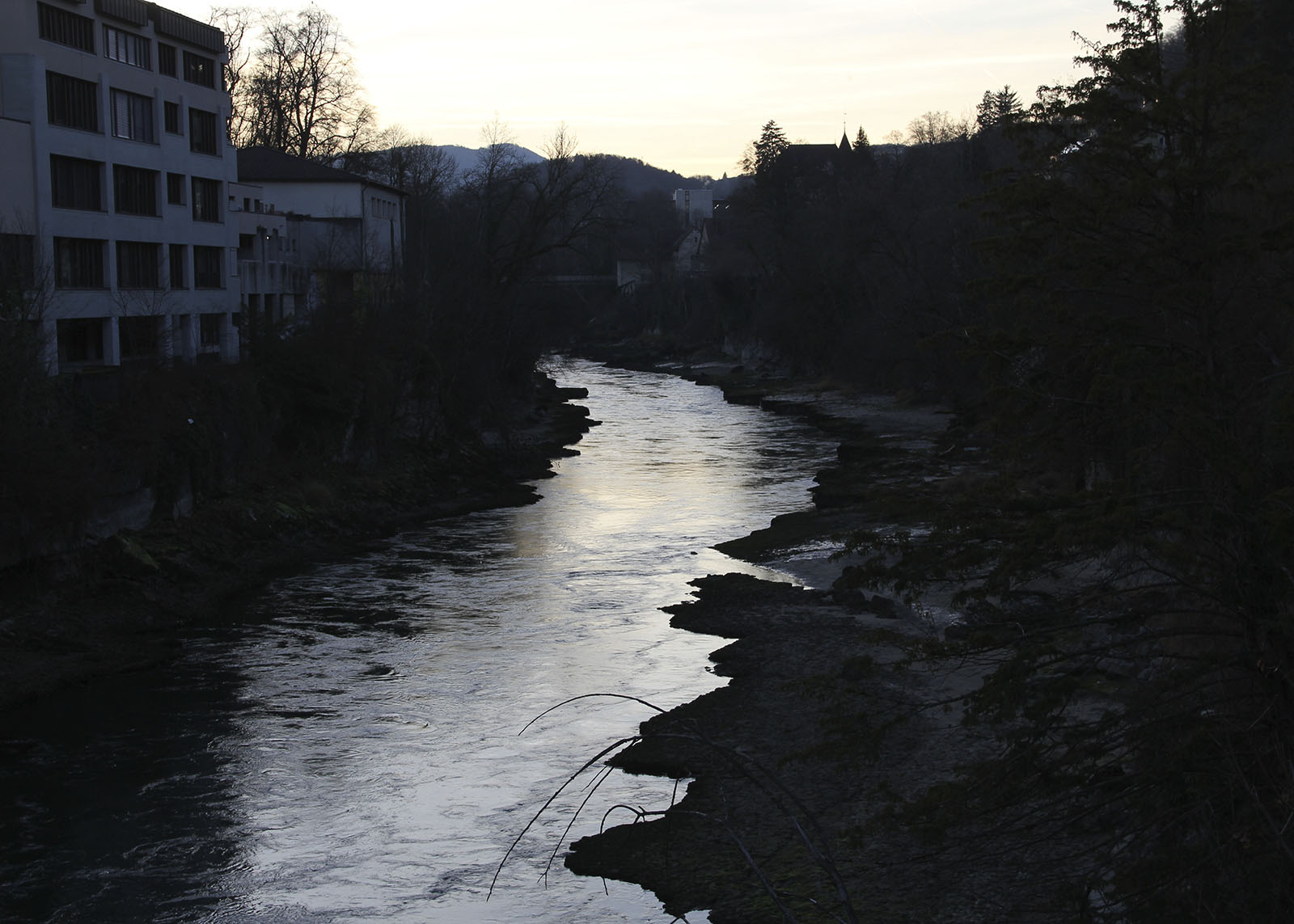 aare_aareschlucht_brugg_dämmerung_niedrigwasser