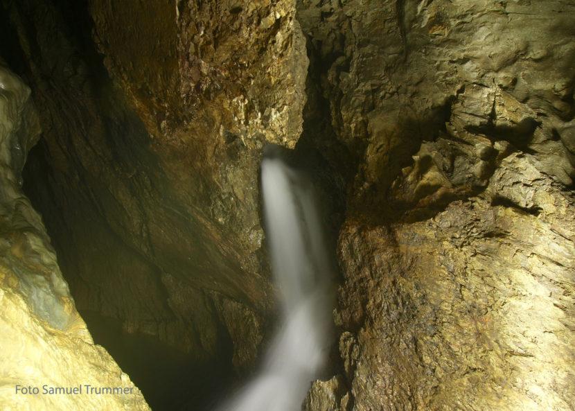 Austretende Quelle