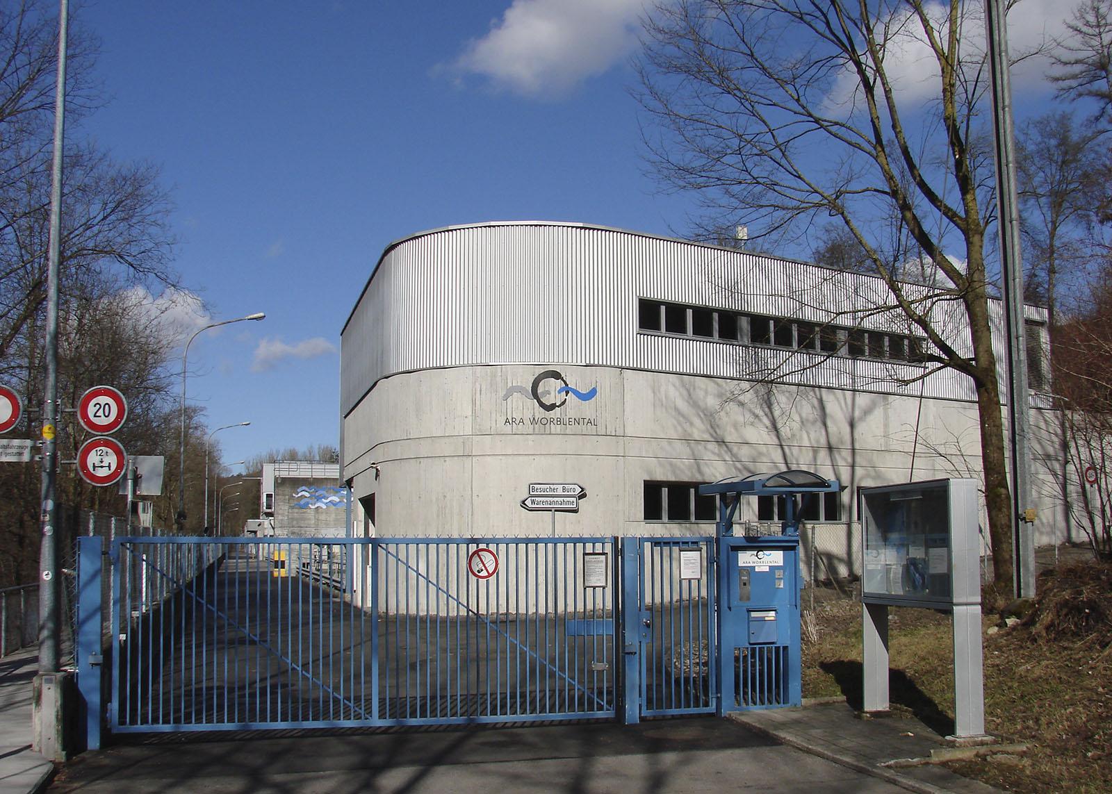 Seit 1971 in Betrieb: Die Abwasserreinigungsanlage (ARA) Worblental