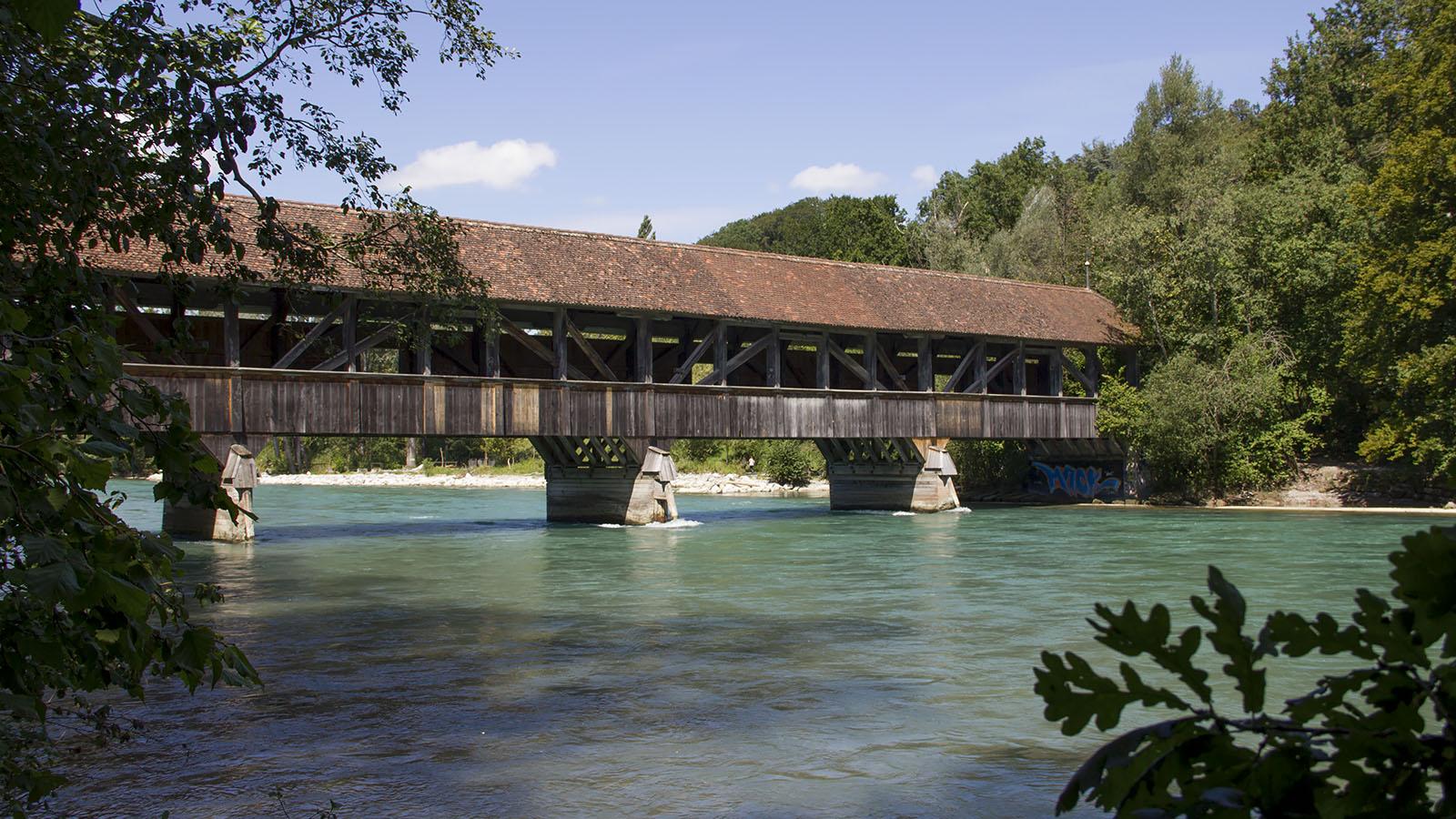 Die Auguetbrücke zwischen Muri und Belp