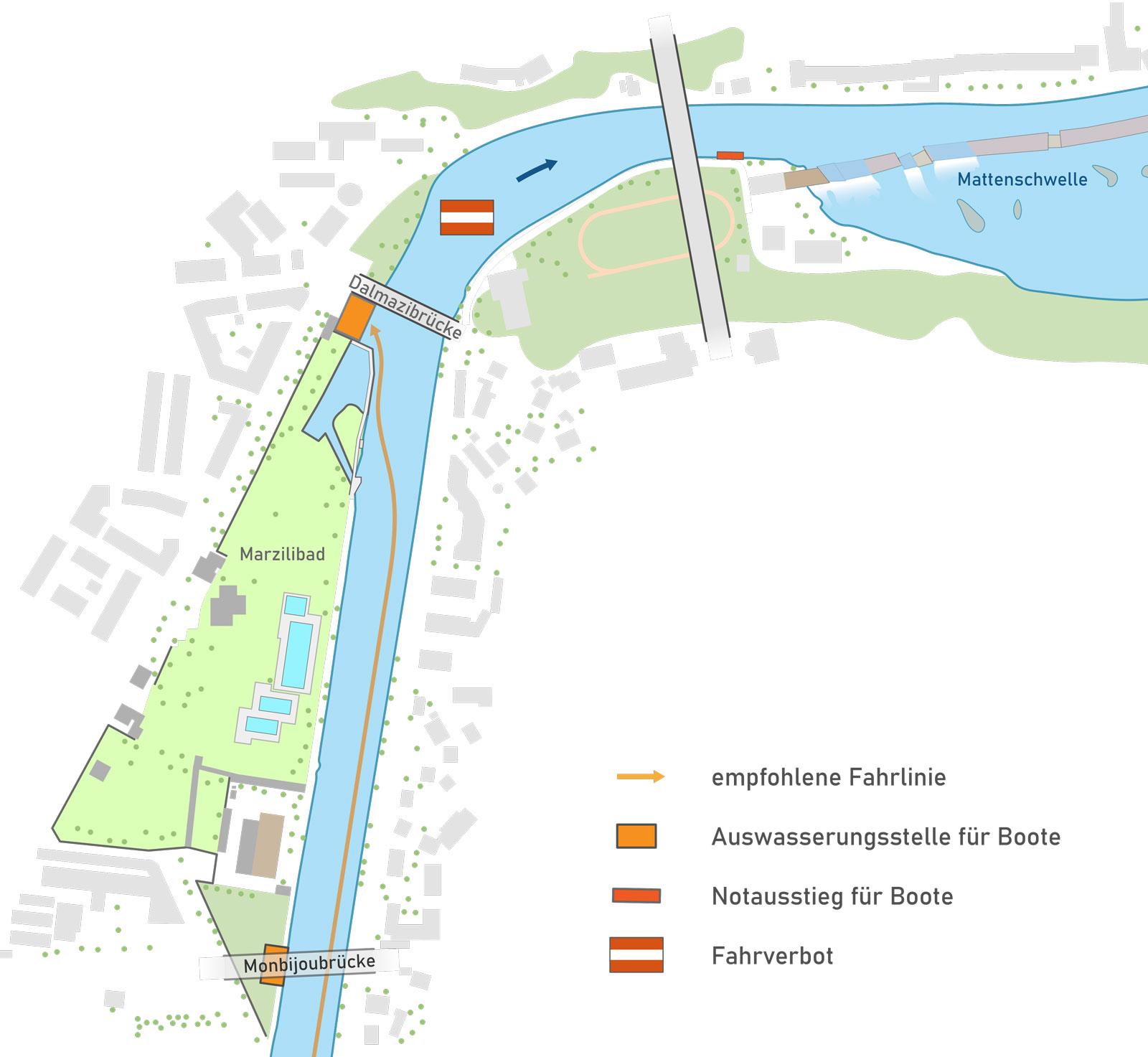 aare_auswasserunstellen-monbijoubrücke_dalmazibrücke_einwasser